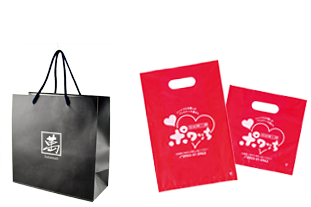 株式会社三光が作成したショッピングバッグ